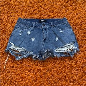 $ 3 for $30 anything on my page! Denim jean shorts